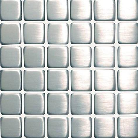 Metallmosaik CC Höganäs Borstad Stål 4,8x4,8 hos 9924-02G801